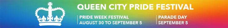 Queen City Pride 2020 - Festival Aug 30 to Sept 5. Parade Sept 5.