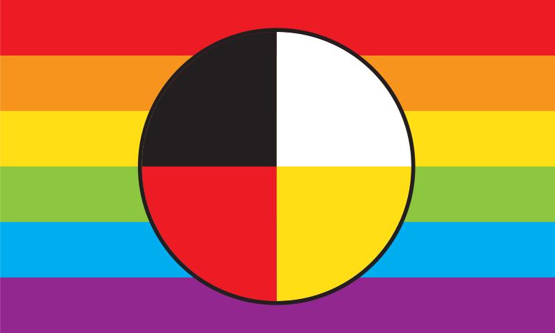 Two-Spirit Pride Flag